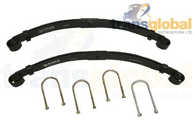 "Land Rover Series 3 88"" SWB Front Parabolic 2 Leaf Springs - BRITISH"