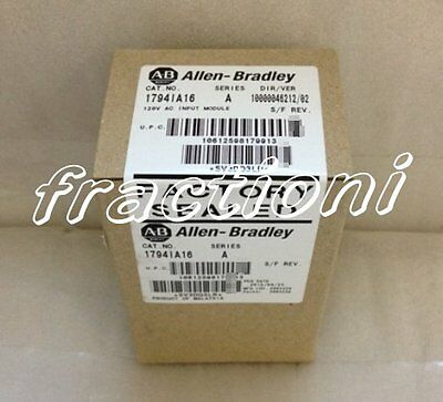 AB PLC Module 1794-IA16 ( 1794IA16 ) New In Box, Factory Sealed !