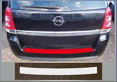 Bumper Strip Protective Film Clear VAUXHALL ZAFIRA B, Year of Manufacture 05-11