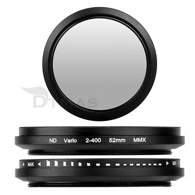 Filtro Slim Ajustable Fader Variable Neutral ND para ND2 a ND400 Neutral 52 mm