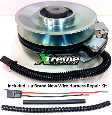 Replaces Warner 5219-58 Toro PTO Clutch 108-9510 - w/ Wire Harness Repair Kit !