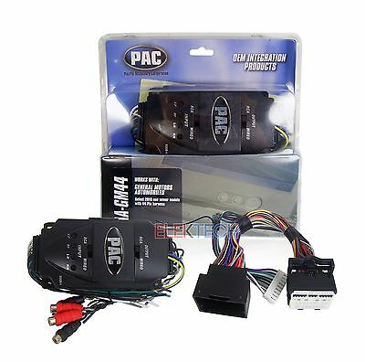 PAC AA-GM44 Amplifier Integration Interface for Buick Cadillac Chevrolet GMC Amp