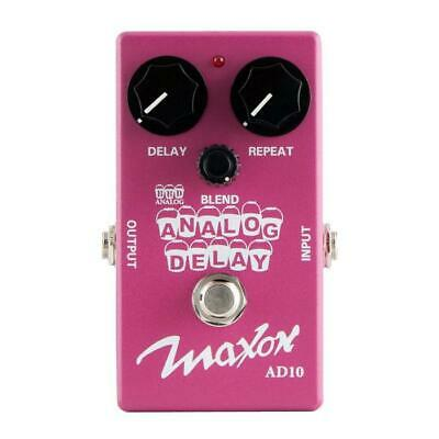 NEW! Maxon AD10 Analog Delay - 100% Analog Delay With 600 mS Delay Time