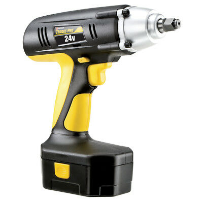 "Trades Pro 24 Volt Cordless Impact Wrench, 1/2"" Drive, 240 ft-lbs, 837212"