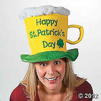 Tricot St. Patrick's Day Beer Mug Hat / 1 PC  / ST PATRICK'S DAY (33/102)