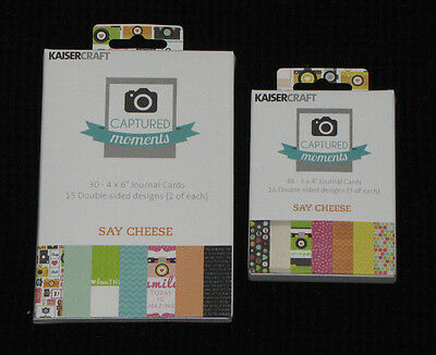 Kaisercraft Captured Moments 'SAY CHEESE' (You choose size) KAISER *5 Left*