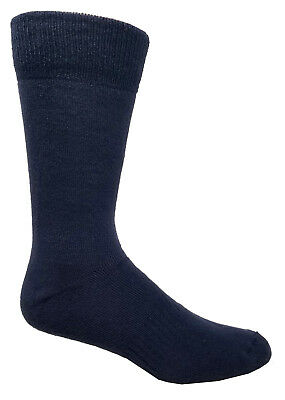 J.B. Field's Mens Over The Calf BAMBOO Socks with Full Cushion (2 Pairs)