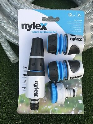 "Barfell Garden Water Hose 50M  High Pressure 12MM - 1/2""  Nylex Fittings Last 5"