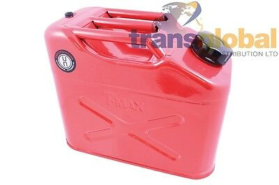 10 Litre Petrol / Diesel / Water Fuel Jerry Can and Spout - T-MAX