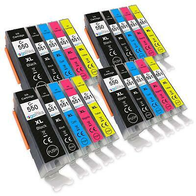 20 Ink Cartridges (5 Set) for Canon PIXMA iP7250 MG5450 MG6350 MG7150 MX925
