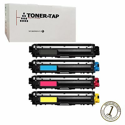 Full Set for Brother TN-221 TN-225 Compatible Toner HL-3140cw MFC-9130cw 4-Pack