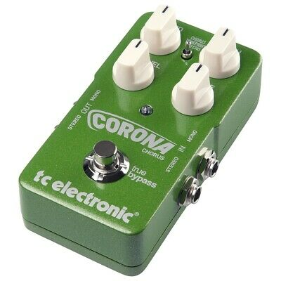 TC Electronic Corona Stereo Chorus Guitar Effects Pedal FX - NEW!