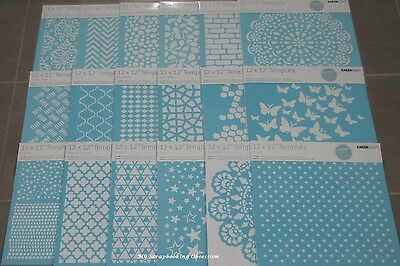 "Kaisercraft 'TEMPLATE/STENCIL' 12x12"" (Choose from 22 design) Card Making KAISER"
