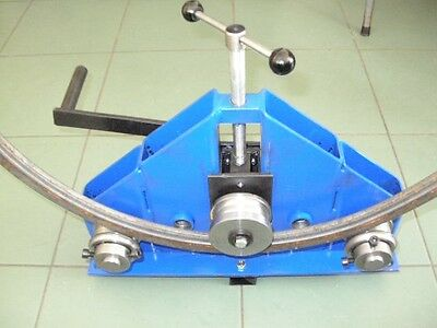 RING ROLLER / Roll Bender - Flat Bar/ Tube/ Pipe/ Profile Bender
