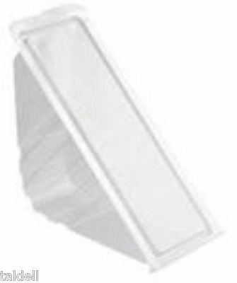 100 Large Plastic Sandwich Container /Triangle/Wedges