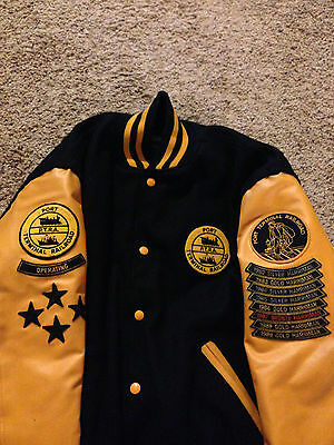 VTG 80's Port Terminal Railroad Association Letterman Jacket PTRA Houston Rare