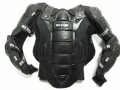 Motocross Enduro Atv Quad Bike Adult Off Road Body Armour  Black Ce Approved New