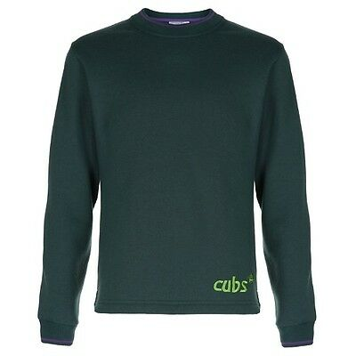 Cubs Sweatshirt New Style Official Uniform All Sizes Boys Kids Free Delivery