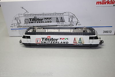 "Märklin 34613 Elok Re 460 020-1 ""Tilsiter Switzerland"" Spur H0 OVP"