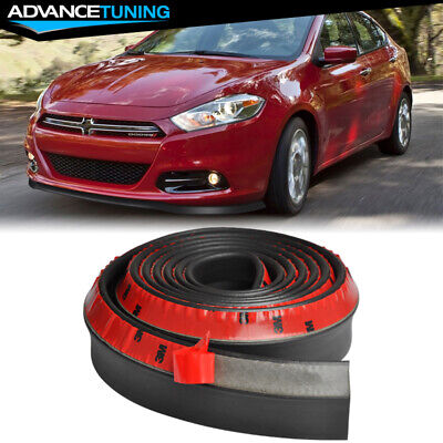 100 Inch Fits Dodge Front Lip Splitter Body Spoiler Valance Chin EZ To Install
