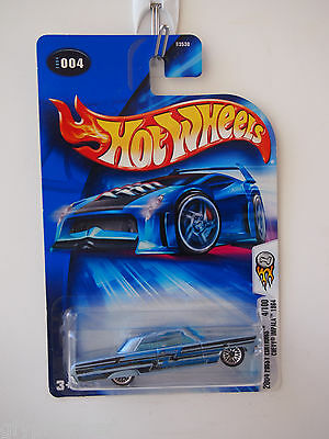 2004 FIRST EDITIONS HOT WHEELS 4/100 CHEVY IMPALA 1964