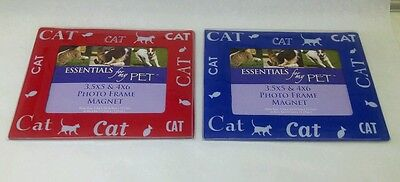 Cat Frames 2 Magnetic Picture Frames