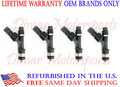 30lb 30# 315cc KA24E Stanza Axxes 240SX 2.4L Upgrade Fuel Injector Set 4 Nozzle