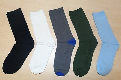 Kid School Socks Bulk White Navy Blue Grey Navy Green Cotton Back to School Deal