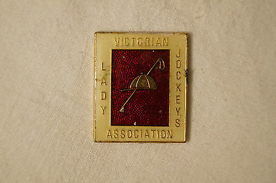 Collectable - Vintage - Victorian Jockey's Association - Lady's Badge.