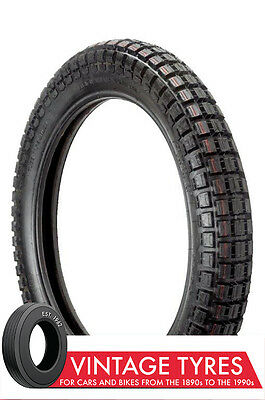 400-19 4.00-19 Motorcycle Ensign Trials Univ. Tyre New