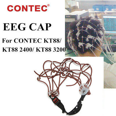EEG CAP for All the EEG machine OR EEG monitor from CONTEC KT88/KT88-2400/3200