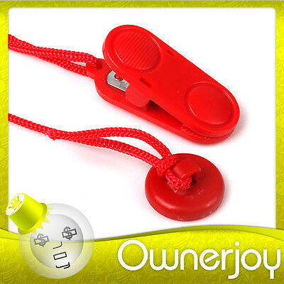 Red Magnetic Treadmill Running Machine Safety Key Replacement Uk Ship