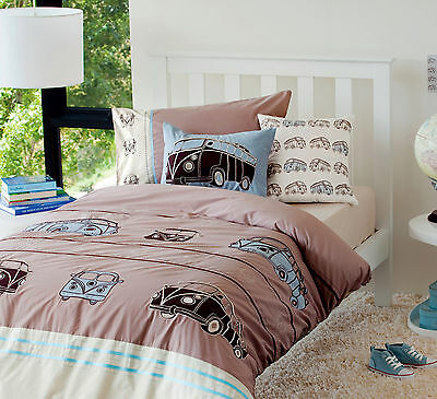 Juvenile Bedding - Combi Vans Duvet Cover Sets and/or cushions