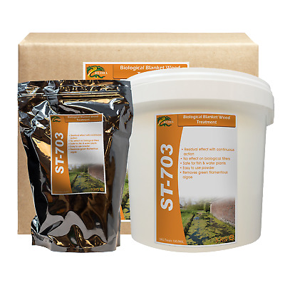 Effective Pond Green Filamentous Algae Treatment HYDRA ST703 Remove Blanket Weed