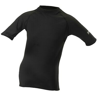 SPALDING Base Layer Top 7-8 Yrs Boys Girls Sports Short Sleeve Compression Tee