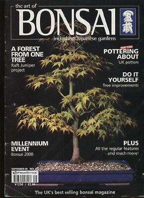 THE ART OF BONSAI MAGAZINE - September 2000