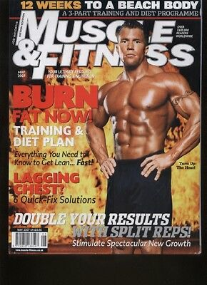 MUSCLE & FITNESS MAGAZINE - May 2007