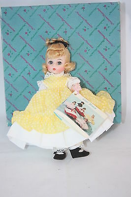 "VINTAGE MADAME ALEXANDER 8"" LITTLE WOMEN SERIES AMY #411 WITH BOX"
