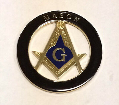 Masonic Car Decal(Black)