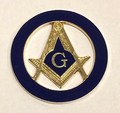 Masonic Car Decal(Navy)
