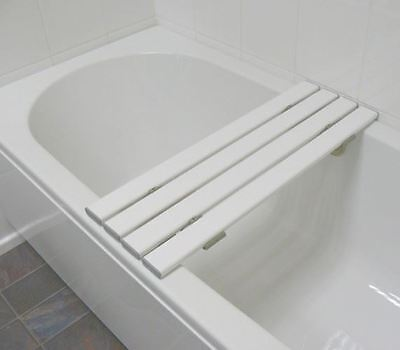 "26"" Hygienic Slatted Bath Board Bathing Seat Shower Stool Bench Mobility Aid"