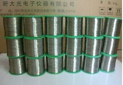99.95% Nickel Ni Metal Wire,Diameter 1mm, Length 5m=16.5 Foot