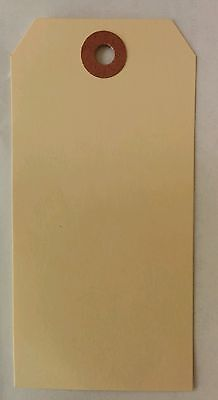 *SALE* 1000 Manilla Shipping tags 4 3/4 x 2 3/8 #5  *NEW LOWER PRICE*