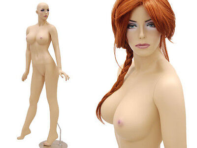 Fiberglass Dummy Mannequin Manequin Sexy Dress form Clothing Display MD-ACK4X