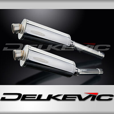 HONDA CBR1100XX BLACKBIRD 96-09 350mm STAINLESS BSAU SILENCER EXHAUST KIT