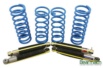 Land Rover Discovery Series 2 TD5 or V8 Air Spring to Coil 50mm Lift Kit