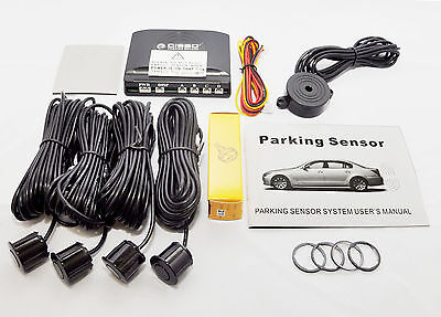 Cisbo Front Parking Sensor Kit 4 Sensors Audio  Buzzer Alarm In 31 Colours