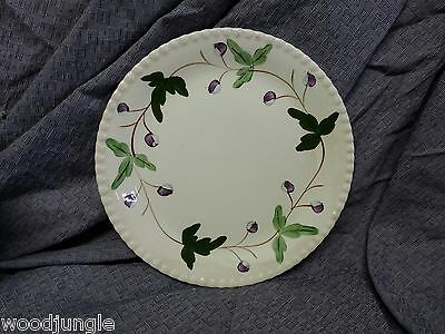 Vintage BLUE RIDGE    SOUTHERN POTTERIES  DINNER PLATE MOUNTAIN IVY FLOWERS