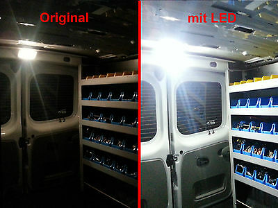 LED Leuchte Laderaumbeleuchtung Renault Master III & Trafic extrem hell T10 W5W