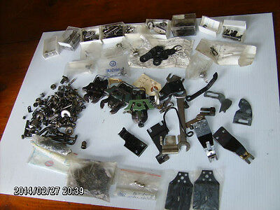 5+ pound lot of LEWIS Button Sewer parts